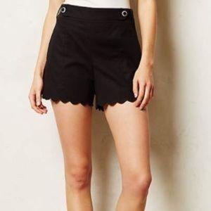 GUC Anthropologie Scalloped Sailor Shorts 8